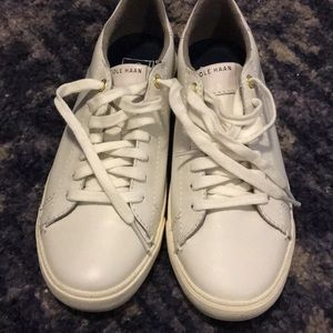 New Cole Haan White Sneakers